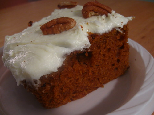 Billy's Bakery Pumpkin Cake