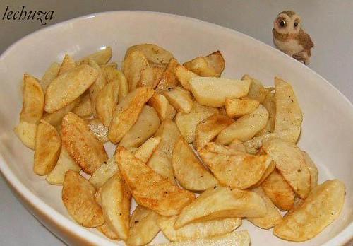 Chuletitas cordero-patatas +