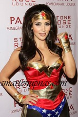 kim kardashian wonder woman costume