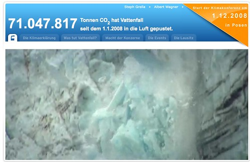 greenpeace Vattenfall greenwashing re-Campaign