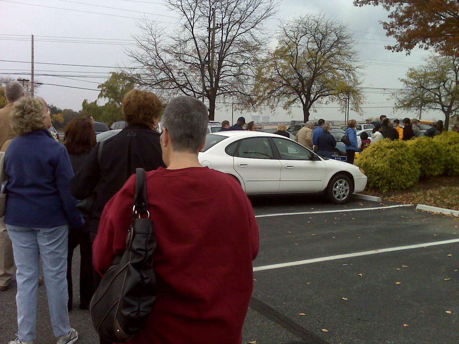 Voting Line in Limerick, PA