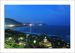 Vizag Blues (coold) Tags: sunset beach night vizag coold vizagbeach