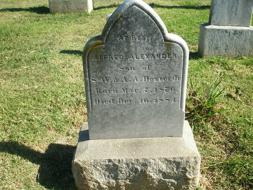One of the oldest tombstones