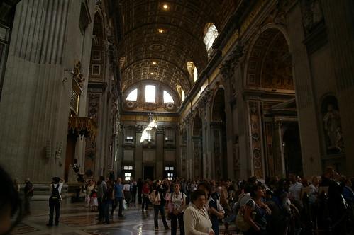 聖彼德教堂內一景
