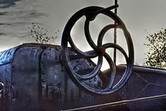 wheel-HDR (Ugo F. Turcio) Tags: boot boat barca nederland thenetherlands tilburg furball hdr olanda qtpfsgui