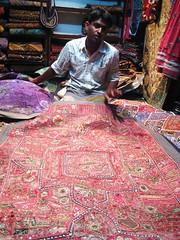 Patchwork seller - Jaisalmer, India