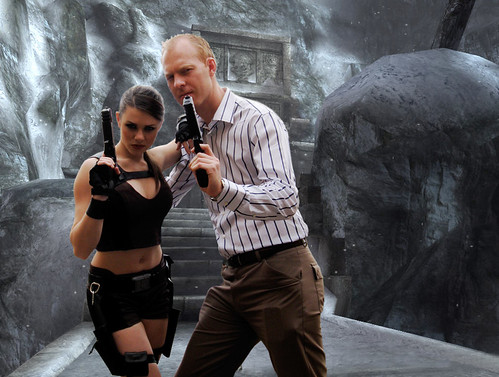 Lara Croft and Me