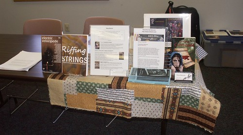 Book Display at NaNoWriMo Kickoff