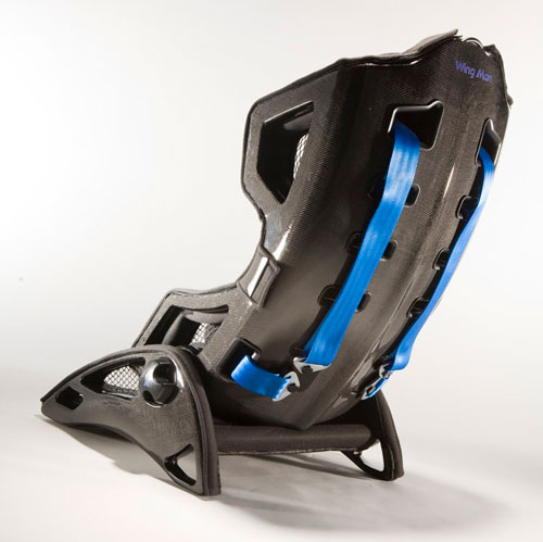 National Speed Sparco Babyseat - Rear