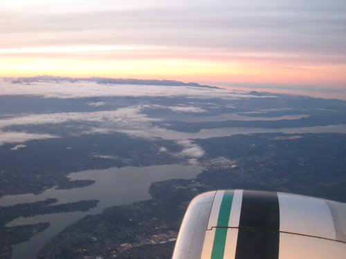 Leaving Seattle on Alaska Airlines