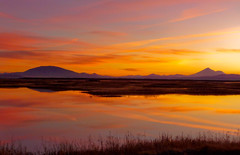 Sunset 2 - Klamath Basin National Wildlife Refuge (ex_magician) Tags: pictures sunset northerncalifornia oregon landscape lumix photo interesting image photos picture panasonic adobe mountshasta wildliferefuge merrill lightroom lavabedsnationalmonument moik southernoregon adobelightroom statelineroad klamathbasinnationalwildliferefuge tz5 dmctz5 dsctz5