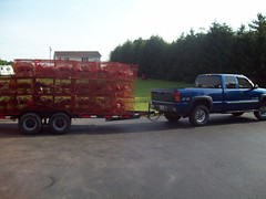 Trailer load (Waterman193) Tags: fisherman maryland commercial waterman chesapeake crabber deadrise