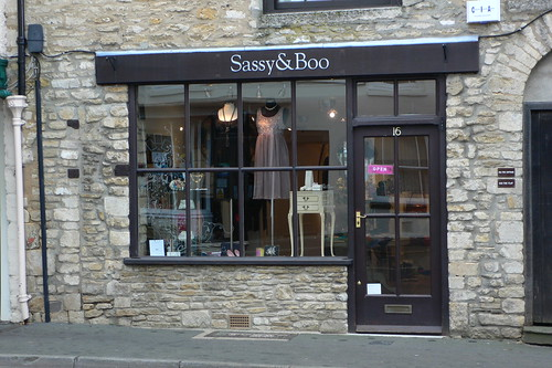 Sassy & Boo shop in Tetbury