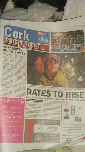 Frontpage of Cork Independent