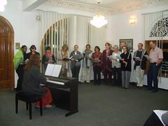 Choir at the GTZ (Mishu Mathu) Tags: yemen sanaa jemen