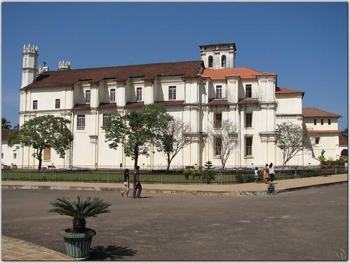 Church-of-St.-Francis-of-Assisi-Goa-India,Goa-churches-India