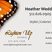 Heather Weddle Business Card Template -- FRONT  V3