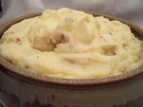 Bacon Garlic Mashed Potatoes | Fruit Tart