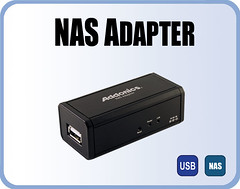 USB HDD to NAS