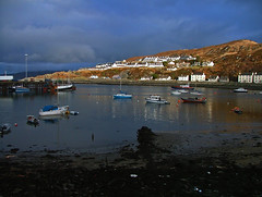 Mallaig, Thunder coming (Gordypordy) Tags: day mallaig autumnul