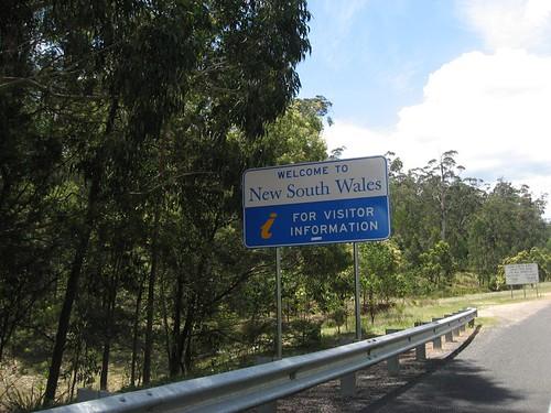 Victoria-NSW Border