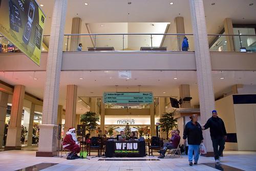 WFMU @ Newport Centre Mall