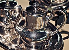 Hitler's Silver Tea Pot (SepiaBillo) Tags: old museum tea hitler alabama pot ah service berman