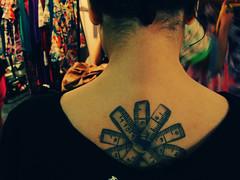 Apaixonada por Moda (Natlia Viana) Tags: fashion brasil moda amiga mari tatto tatuagem significado fitamtrica belmpar natliaviana marinamelo bachareladoemmoda fazendomoda