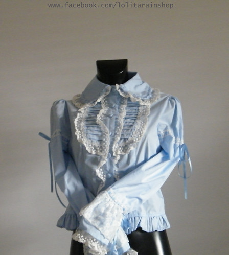 Bodyline sax blue blouse size 2L