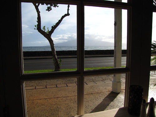 View from Ruth's Chris Steakhouse, Lahaina