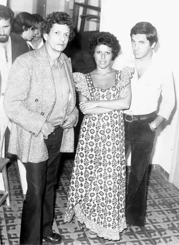 Silvio Russo com Elis Regina e Cesar Camargo Mariano by Fernanda Russo