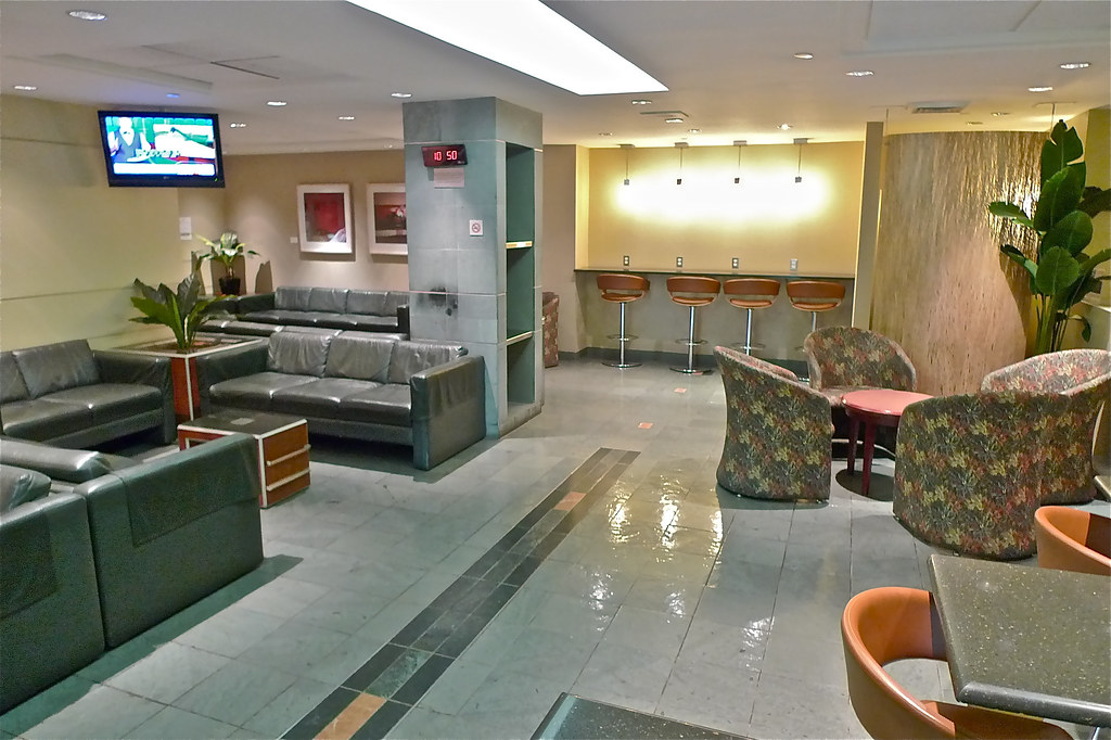 Copyright Photo: Montreal Via Train Central Station Lounge Back by Montreal Photo Daily, on Flickr