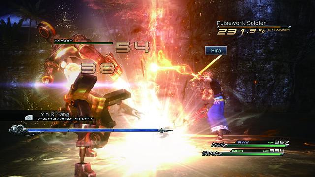 Final Fantasy XIII-2 - Fire!