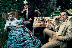 Alice in Wonderland (fairytalecinema) Tags: shoot designer disney vogue aliceinwonderland annieleibovitz christianlacroix