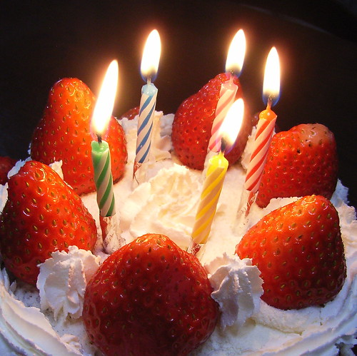 Birthday Cake by chidorian, on Flickr
