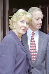 Neil & Christine Hamilton (swatman67) Tags: mp trial highcourt mohamedalfayed brownenvelopes neilhamiltonchristinehamilton
