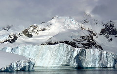 An Iceberg off the Antarctic Coast (billadler) Tags: winter mountain snow ice spring antarctica glacier iceberg antarctic