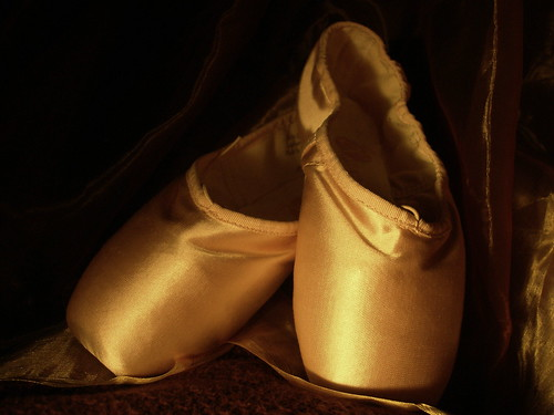 Ballet Shoes by Megyarsh.