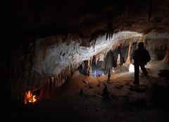 Scorcio (Speleopillo) Tags: sardegna mediterraneo cave capo gea grotta cccp alghero caccia grup sotterraneo gravit caver stalattiti concrezioni speleologia eccentriche espeleologic alguers