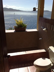View from the bathroom - Anilao, Philippines