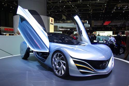 Концепт-кары автосалона в Женеве (Фото) - Mazda Furai