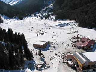 Bansko Ski Resort Main Area (with notes)