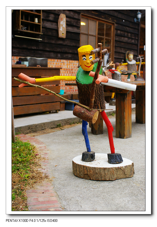 有趣的木偶DIY-三義的扎木工坊
