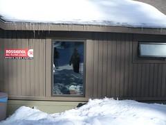 Mirror shot, I think. At the snow shoe rental place (Kristin) Tags: ski work iii tahoe skitrip northstar feb2008
