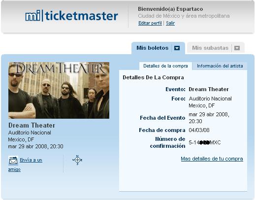 Dream Theater en Mexico (2008)