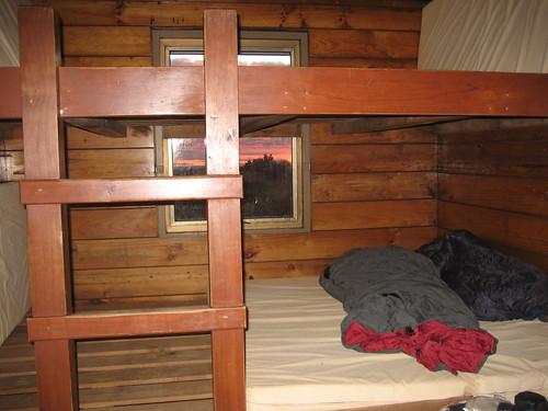Hut camping night 1 Tongariro