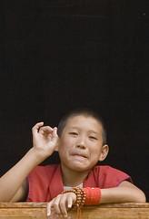 Yunnan, Deqen #1 (foto_morgana) Tags: china people asia religion monk buddhism monastery diqing blueribbonwinner deqen passionphotography platinumphoto anawesomeshot goldstaraward yellowhatsect chongchongcuogang dongzhulingompa