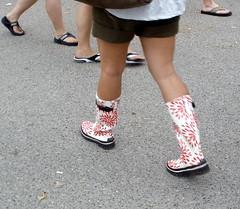 NoLa JazzFest 2008 Rubber Boots (dean.barnett) Tags: nola jazzfest rubberboots
