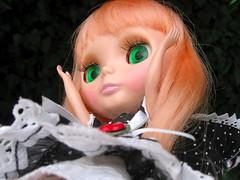 Falling over. (svohljott) Tags: doll windy rosebud lolita eden blythe sbl mrb mademoisellerosebud outfitandshoesfrommylovescloset stockingfrommine