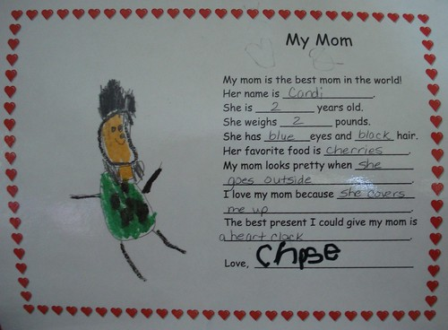 Mother's Day - From Chase